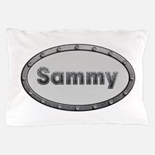 Sammy Metal Oval Pillow Case