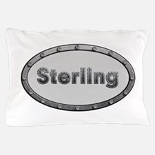 Sterling Metal Oval Pillow Case