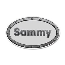 Sammy Metal Oval Wall Decal