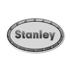 Stanley Metal Oval Wall Decal