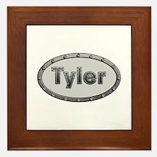 Tyler Metal Oval Framed Tile