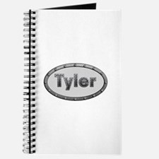 Tyler Metal Oval Journal