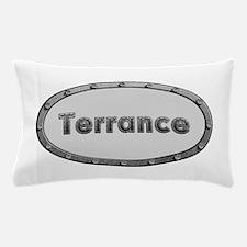 Terrance Metal Oval Pillow Case