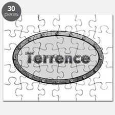 Terrence Metal Oval Puzzle