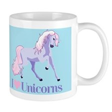 I Heart Unicorns Mug