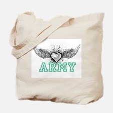 ARMY + wings Tote Bag