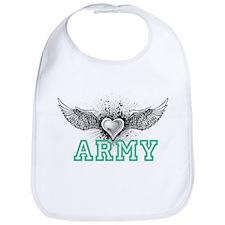 ARMY + wings Bib
