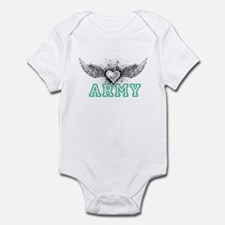 ARMY + wings Infant Bodysuit