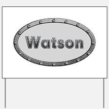 Watson Metal Oval Yard Sign