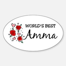 WB Mom [Tamil] Oval Decal