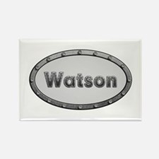 Watson Metal Oval Rectangle Magnet 100 Pack