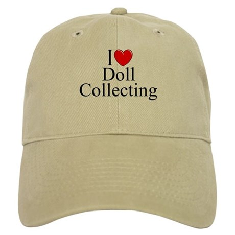"""I Love (Heart) Doll Collecting"" Cap"