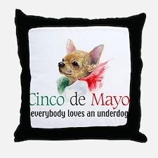 Cinco de Mayo Throw Pillow