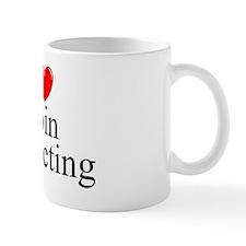 """I Love (Heart) Coin Collecting"" Mug"
