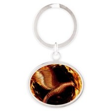 Hunger games Oval Keychain