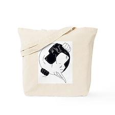 NBlkCWht YY Tote Bag