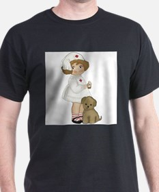 Nurse Ash Grey T-Shirt