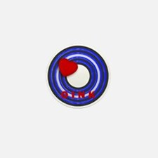 LEATHER PRIDE/OINK/ROUND Mini Button