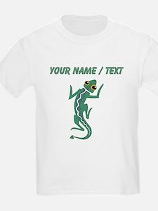 Custom Green Lizard T-Shirt