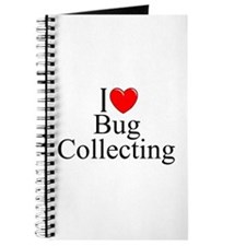 """""""I Love (Heart) Bug Collecting"""" Journal"""