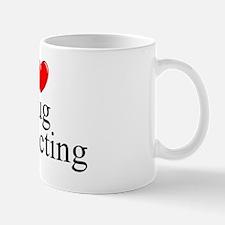 """""""I Love (Heart) Bug Collecting"""" Mug"""