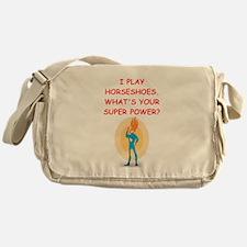 HORSESHOES Messenger Bag