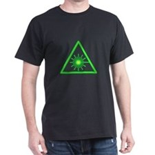 Green Laser Warning T-Shirt
