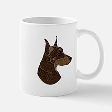Red & Rust Doberman Mug