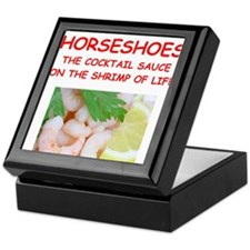 horseshoes Keepsake Box