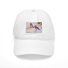 Eastern Bluebird Bird Baseball Cap