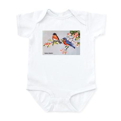 Eastern Bluebird Bird Infant Bodysuit