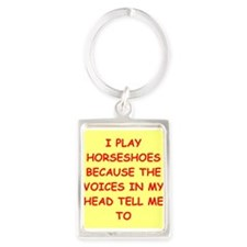 horseshoes Keychains