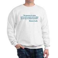 Gandhi Quote Sweatshirt