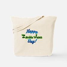 Happy Zombie Jesus Day Tote Bag