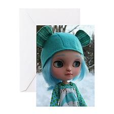 Icy Doll Sugar Greeting Card