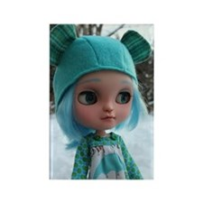 Icy Doll Sugar Rectangle Magnet