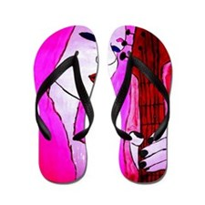Rock N Roll Queen Flip Flops
