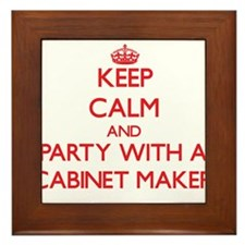 Keep Calm and Party With a Cabinet Maker Framed Ti