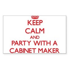 Keep Calm and Party With a Cabinet Maker Decal