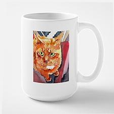 Ginger Cat Portrait-Ginger Perspective Mugs