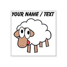 Custom Cartoon Sheep Sticker