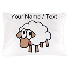 Custom Cartoon Sheep Pillow Case