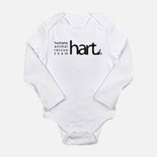 hart Logo Black Body Suit