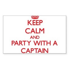 Keep Calm and Party With a Captain Decal