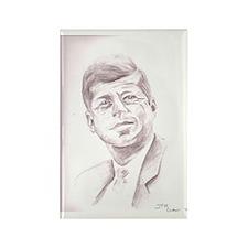 JFK Rectangle Magnet