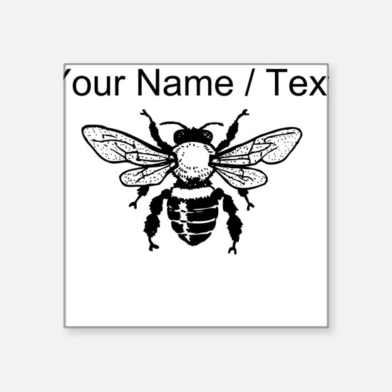 Custom Honey Bee Sticker
