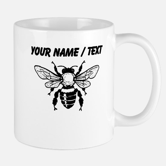 Custom Honey Bee Mugs