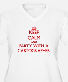 Keep Calm and Party With a Cartographer Plus Size