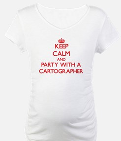 Keep Calm and Party With a Cartographer Shirt