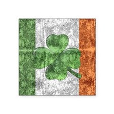 St. Patricks Day Flag Sticker
